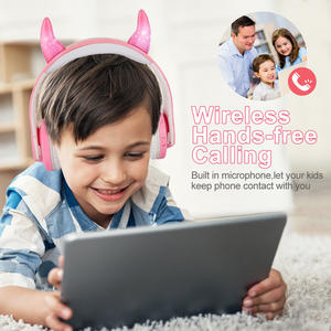 Kids Lovely Top Quality Safe Wireless Bluetooth Headphone Limited To Child For Cheap