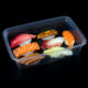 2020 Most popular microwave transparent plastic takeaway bento lunch box Food Packaging Tray