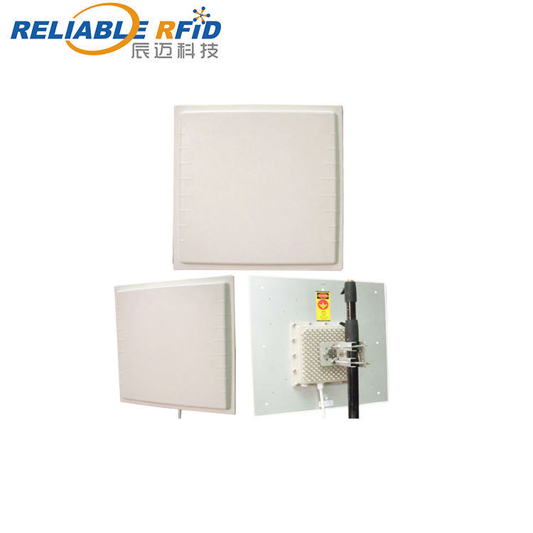 Reliablerfid Long Range Fixed Antenna outdoor 860mhz-960mhz gate door management UHF RFID Integrated Reader For Car Parking