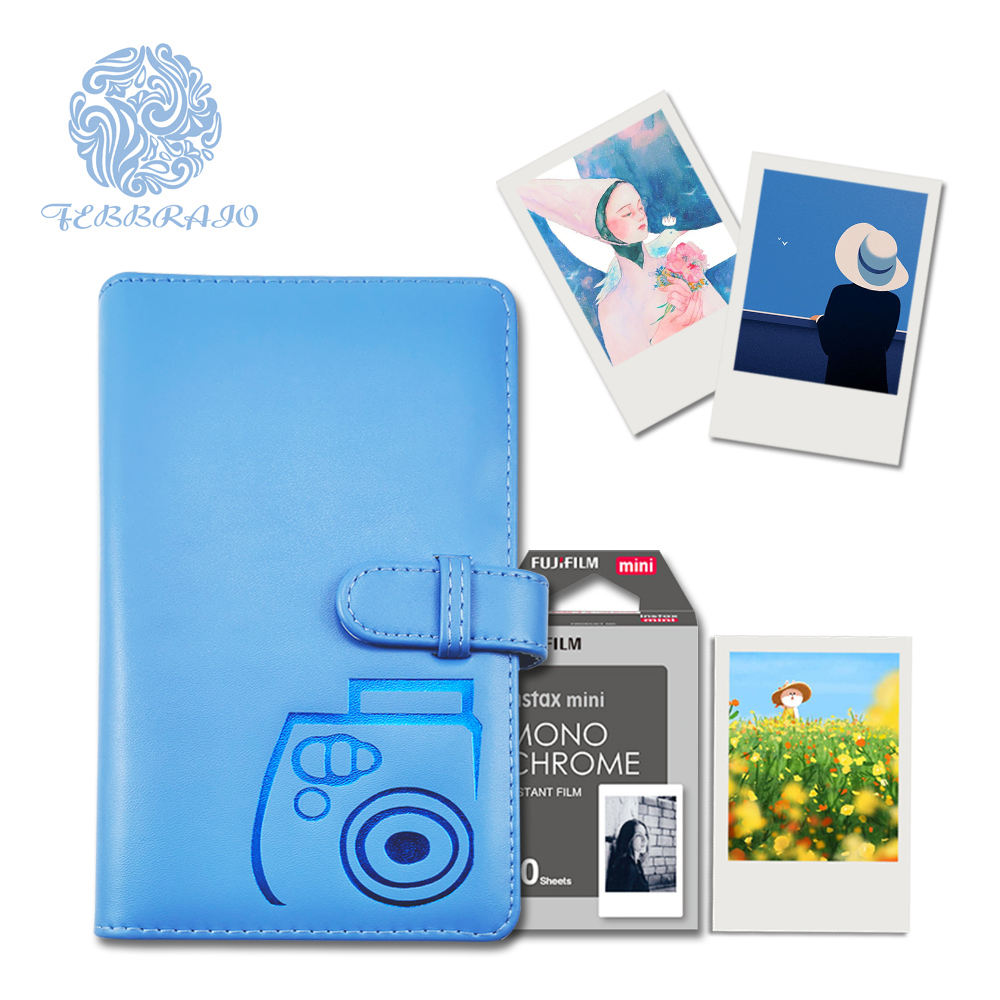 Perfect binding pu leather cover picture album 16 sheets 3 photos per page waterproof wallet size photo album