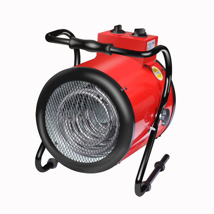 Round type 5kw portable Industrial fan heater