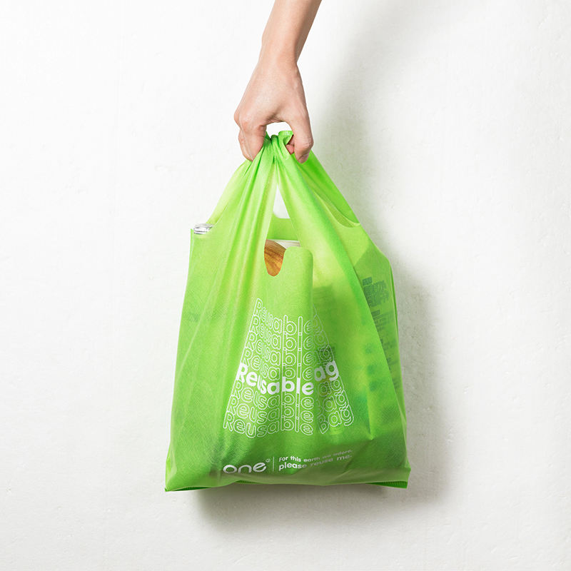 Hot Sale Eco-friendly Nonwoven Cloth Lightsome Breathe Freely Vest Carrier Bag
