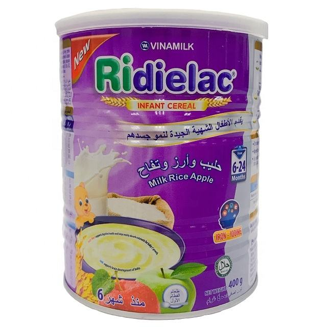 RIDIELAC Infant Cereal Milk Rice Apple - VINAMILK