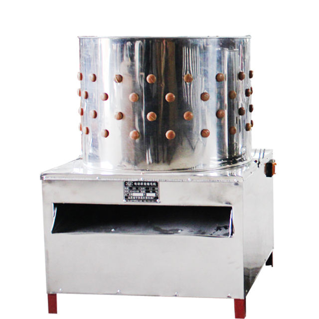 Poultry slaughtering equipment poultry plucker machine MJ-60 type chicken plucker