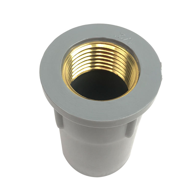 Factory Supply Price PVC Brass Insert Pipe Fitting Coupling PN10