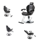 China wholesale hair dresser man hydraulic cheap barber chair for sale