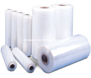 LLDPE stretch Kuilvoer wrapping Film roll