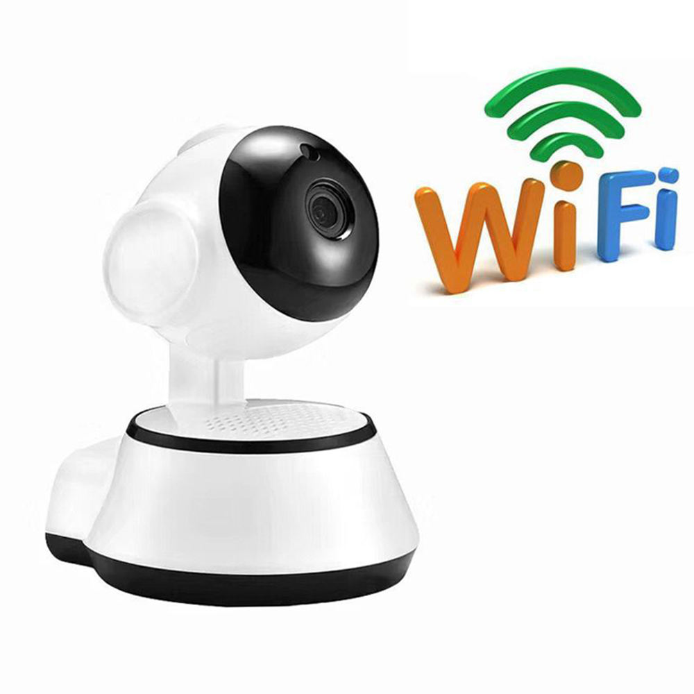 Home 720P Kamera IP Keamanan Dua Cara Audio Wireless Mini Kamera Malam Visi Kamera WiFi Nama APLIKASI V380