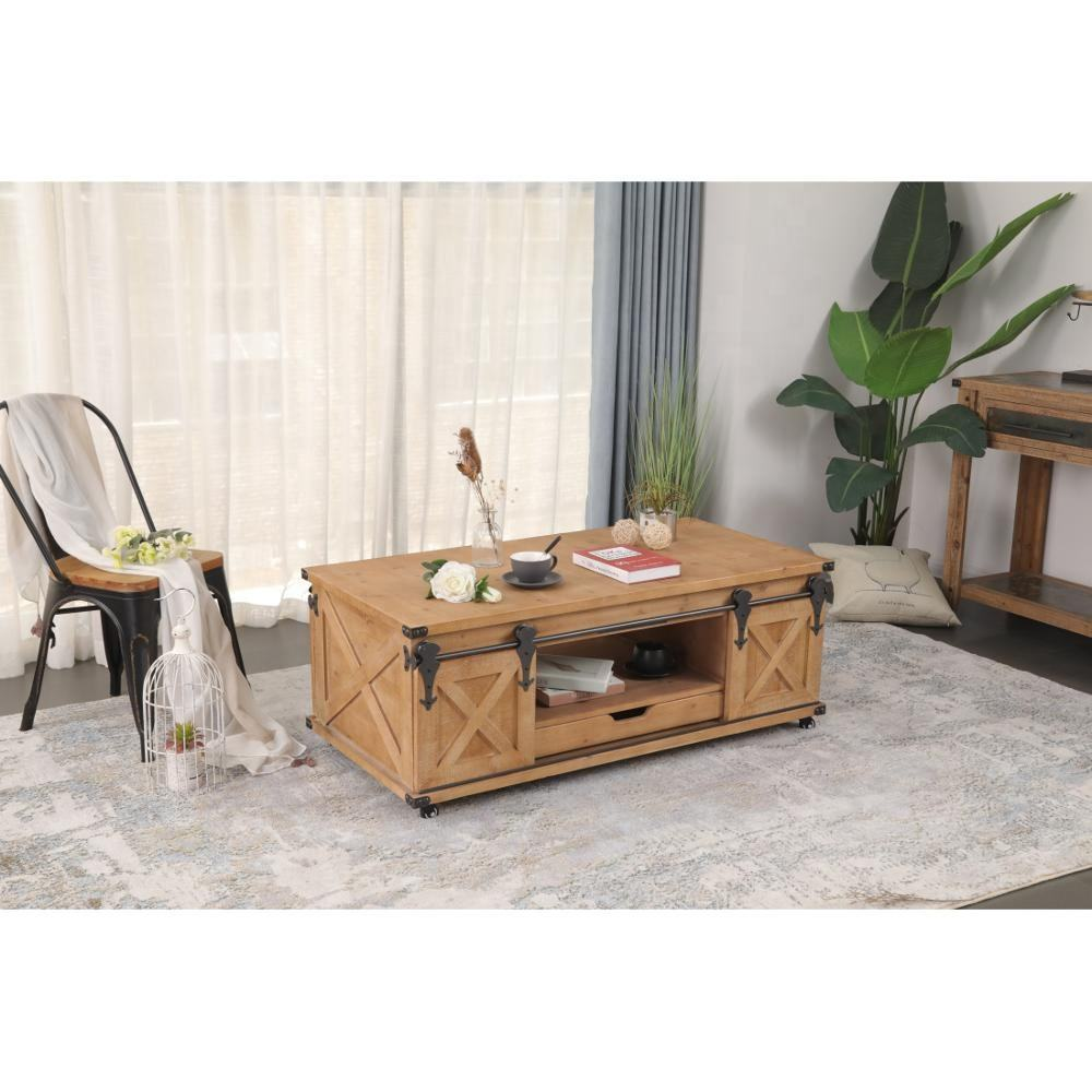 whosale customized chinese designer rectangular antique industrial hand crafted solid wood coffee table furniture