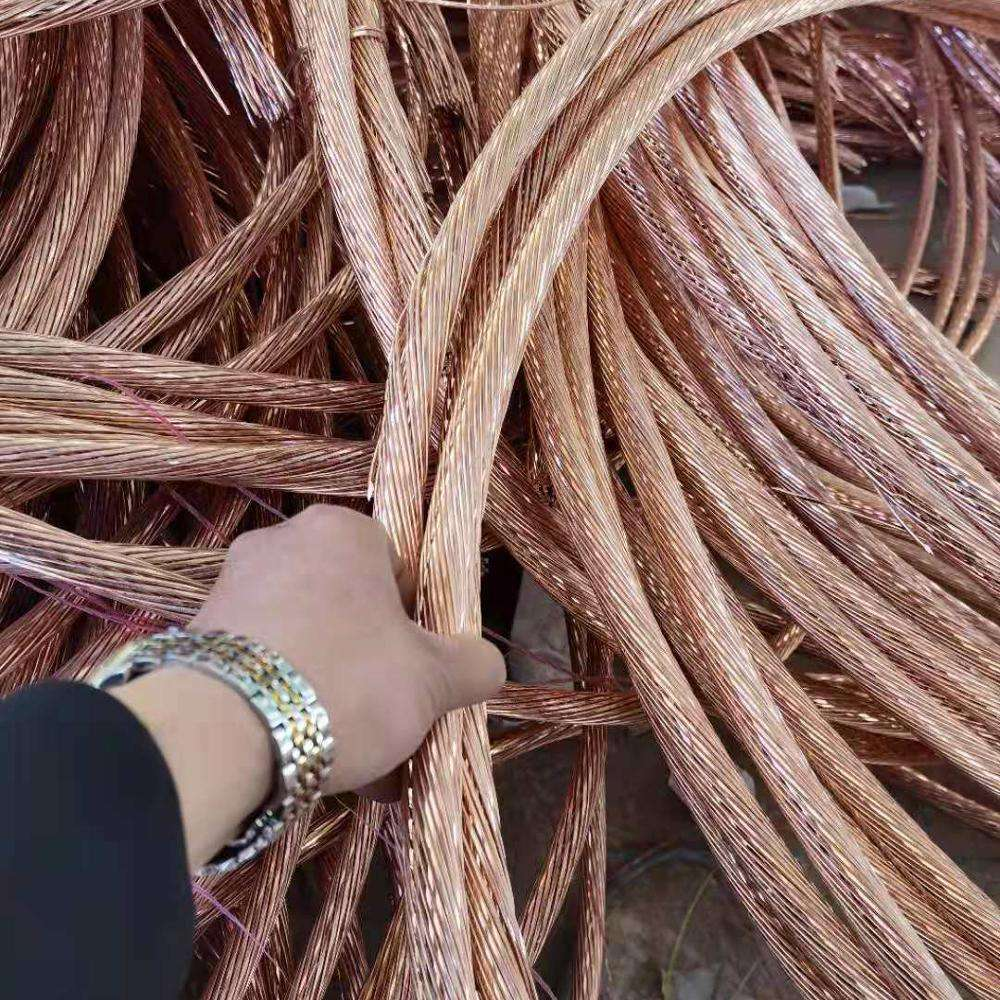 Grade Aay of Copper Wire Scrap Mill-Berry with 99.99% Qualit