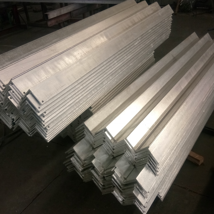 large angle iron china hot rolled unequal ms steel angle bar 40*40*3 for building slotted glavanized angle steel