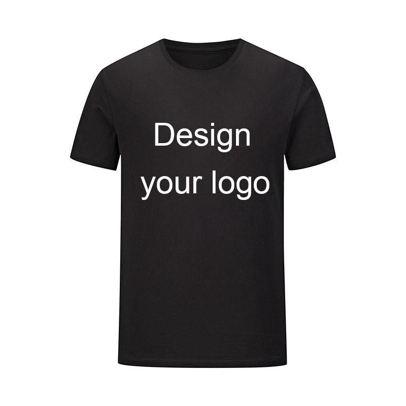 summer shirts men cotton shirt Custom T - shirt Printing Logo Short Sleeves sublimation tshirt
