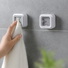 High Quality Wall Hooks for Kitchen Bathroom Trackless Self Adhesive Wall Hanger Mounted Napkin Rack Towel hook