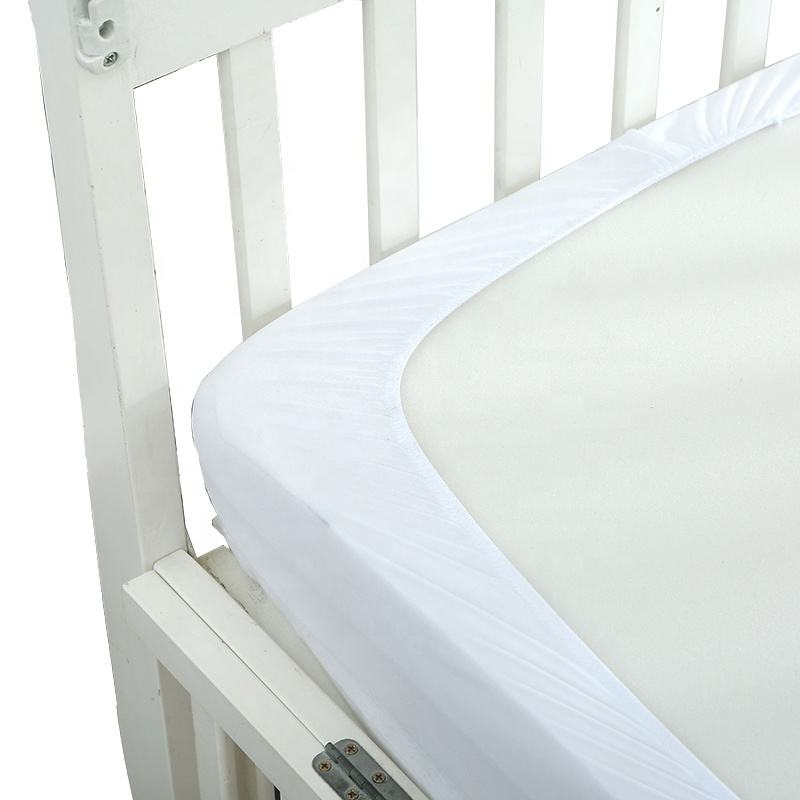 Breathable Crib Quilted Waterproof Mattress Protector Baby Cover