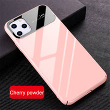 Fashional glass mirror phone case candy color mobile phone cover for new iphone 11 pro max 2019