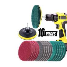 16 piece power scrubber drill brush lowes kit set