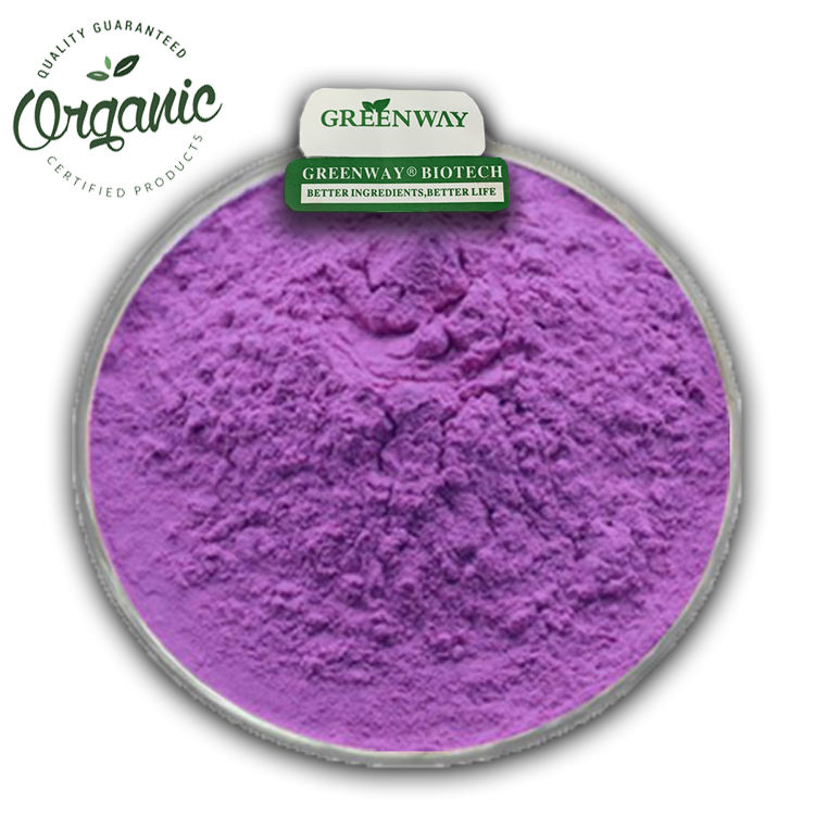 Greenway Food Grade Organic Purple Yam Ube Powder