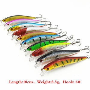 Mixed 56pcs Minnow Wobbler angeln köder Harten Köder Tackle fly angeln locken set