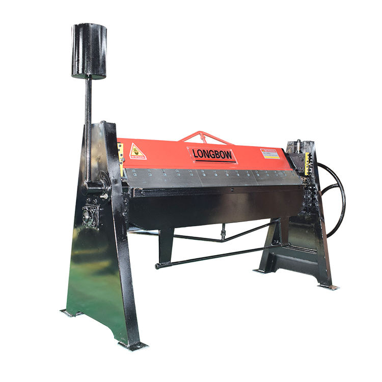 Metal Hand Folding Machine 2mm Aluminum Sheet Manual bending folding machine For Sale