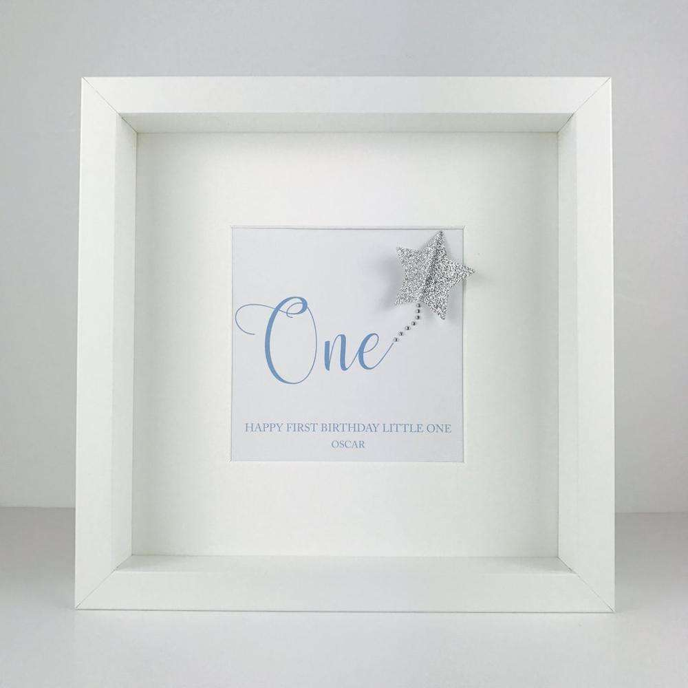 Handmade personalised picture home decor wall art shadow box frame