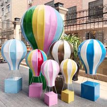 Hot-sale PU fabric Hot-air Balloons for Window Display  Wedding Party Shopping Mall  Holiday Decoration