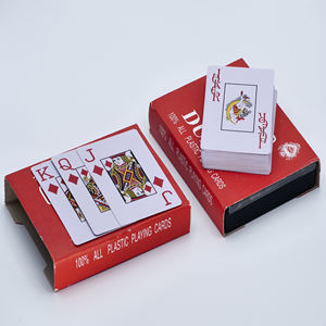 Playing cards plastic playing cards poker waterproof plaing cards