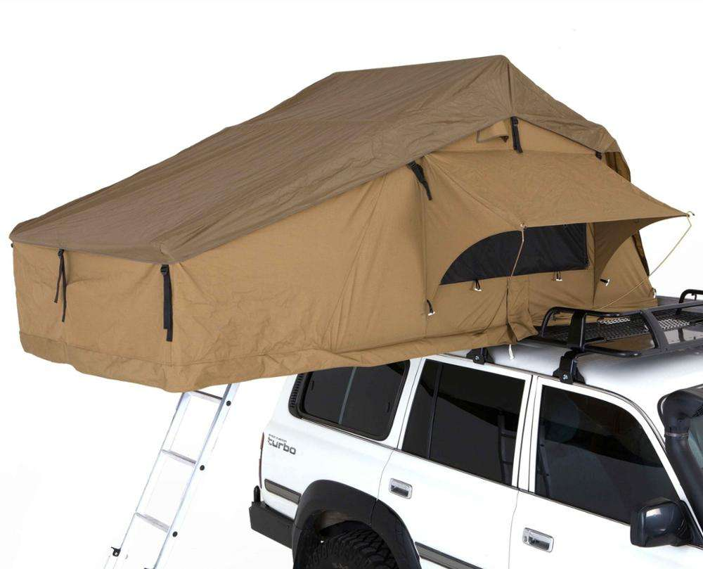 OEM Factory Outdoor Overland Offroad Camping 4WD Car Roof Top Tent awning car side
