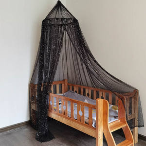 Best sales Popular Polyester Stars Decor Bed Canopy Portable Mosquito Nets