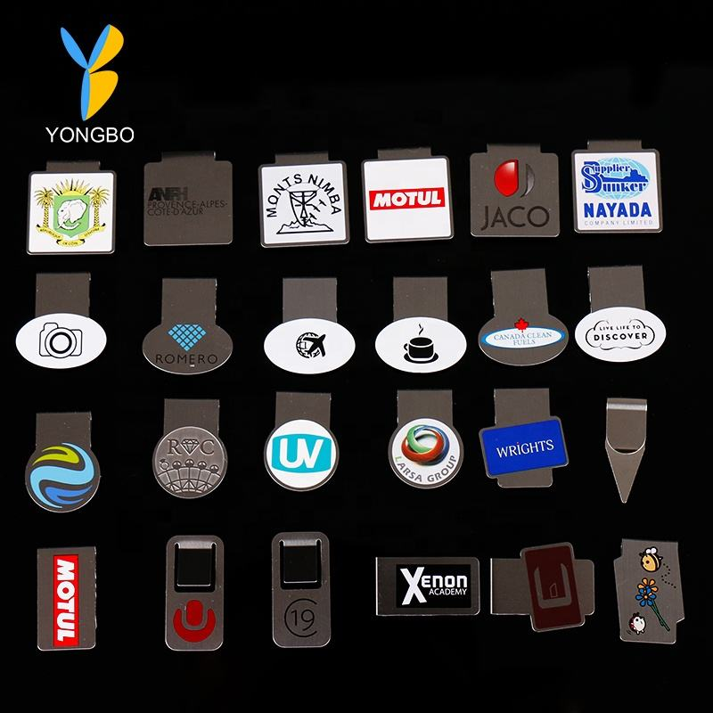 Manufactory Wholesale Custom Personalized Binder Clips/ Paper Clip With Custom Logo