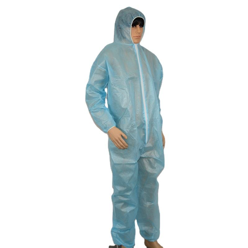 Flame retardant safety waterproof disposable coverall