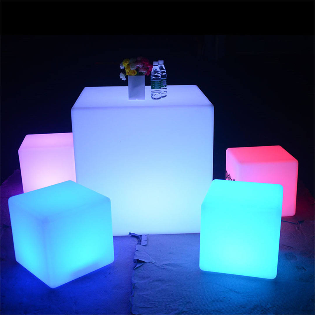 led chair lights for events illuminated cube sectional sofas table led light cube lamp diy led furniture