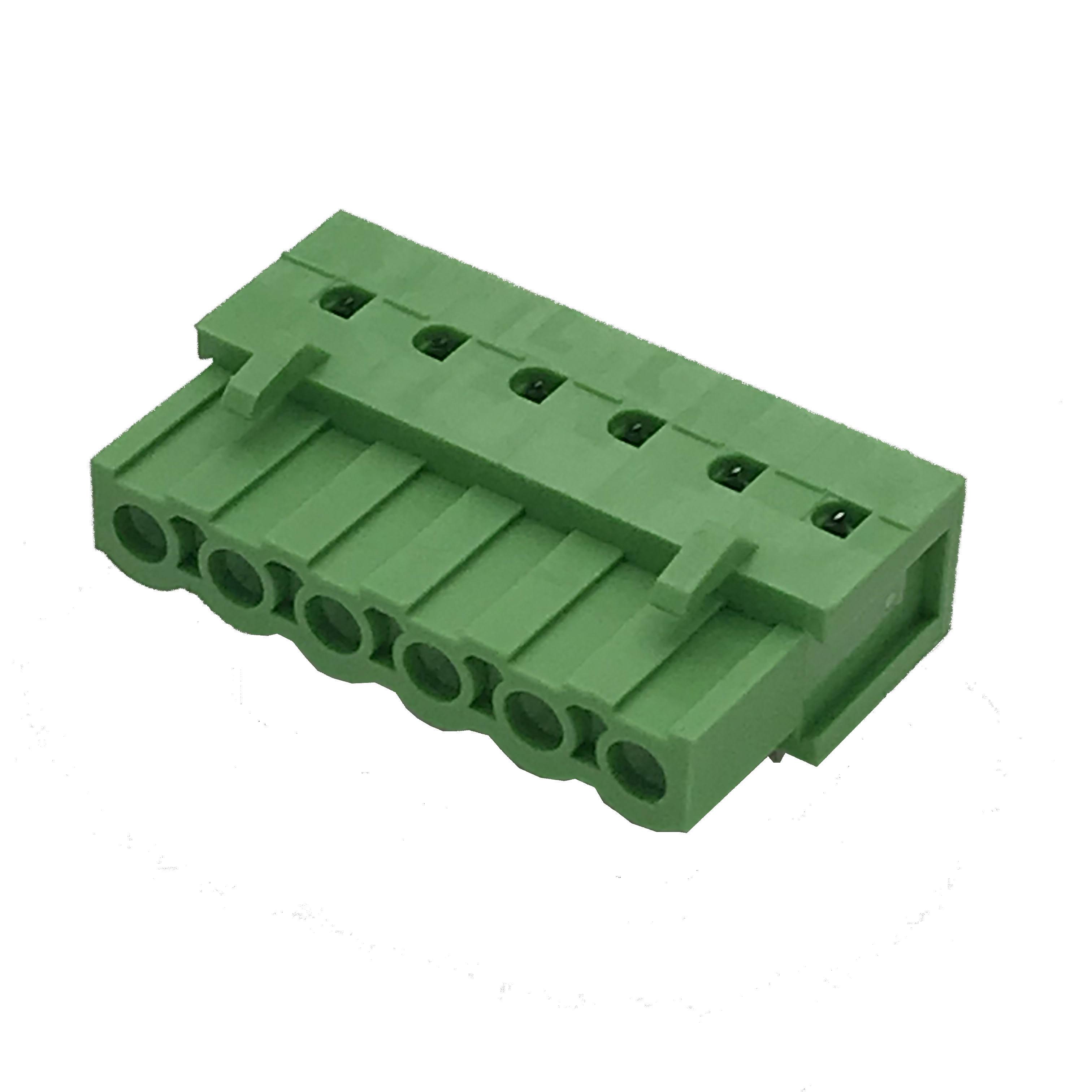 40 Pcs 3 Pin 5.08mm Pitch PCB Mount Screw Terminal Block AC 300V 10A MJ