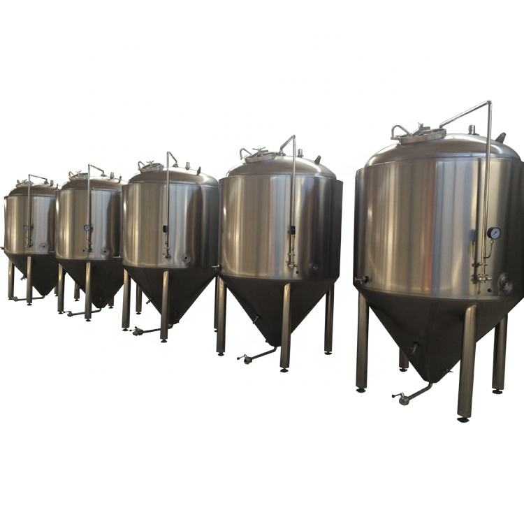 8bbl turnkey beer brewing equipment Stainless steel fermentation tanks