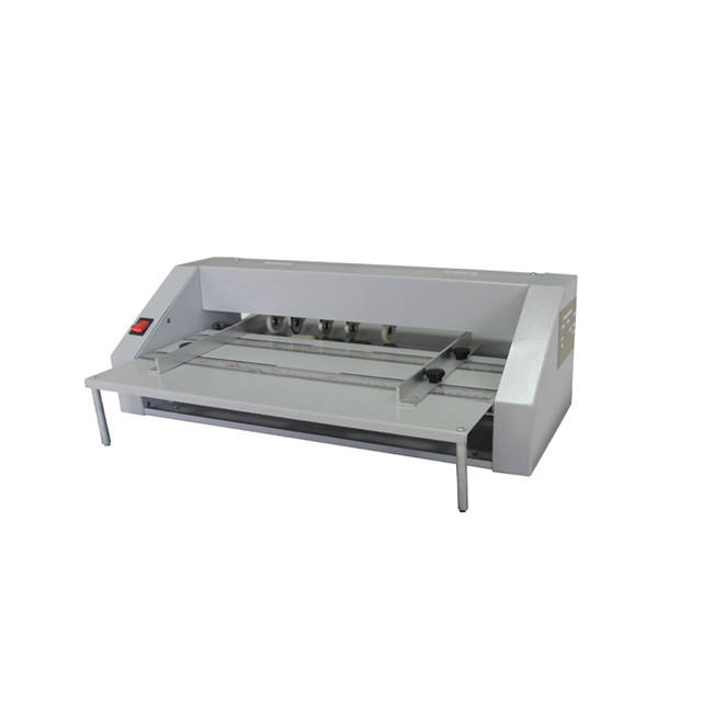 A3 digital electric paper creaser machine desktop automatic creasing and perforating machine