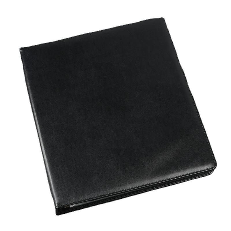 Business Bestand Houder Pu Leather 3 Ringband Padfolio Case Executive Map Professionele Brief Size A4 <span class=keywords><strong>Document</strong></span> Zak