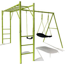 New monkey bar outdoor fitness kids rocking chair swing set for playground