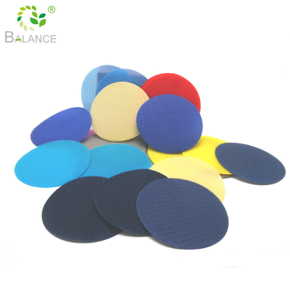36pcs Shape Color Hook And Loop Kids Game Mark Early Education Custom Sit Spots Spot Sitting Carpet Markers For Classroom