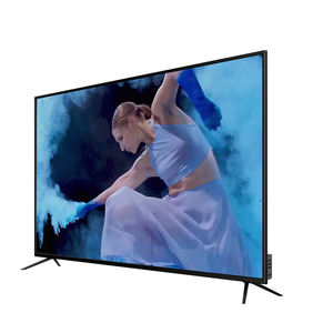 Hot sale television led tv used tv smart tv 75 inch television With metal frame