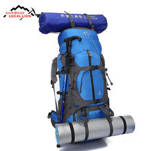 Factory wholesale fashionable outdoor bags waterproof hiking travel mountaineering backpack