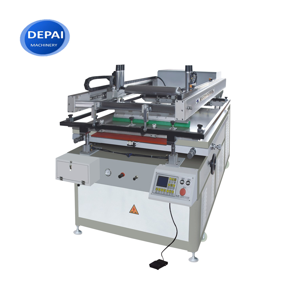 Semi auto cheap price silk screen printing machine for flat glass printing