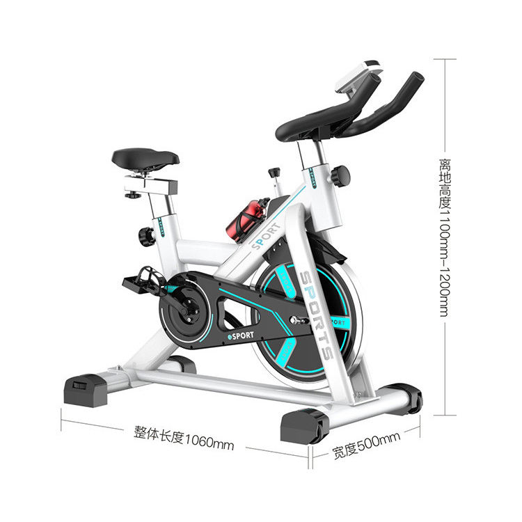 Electronic Crosstrainer Gym Equipment Spinbike Magnetic Resistance Spinning Bike Usate Used Screen Console With Screen Computer