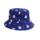 oem japanese children beach screen mesh all over print custom logo golf bucket hat