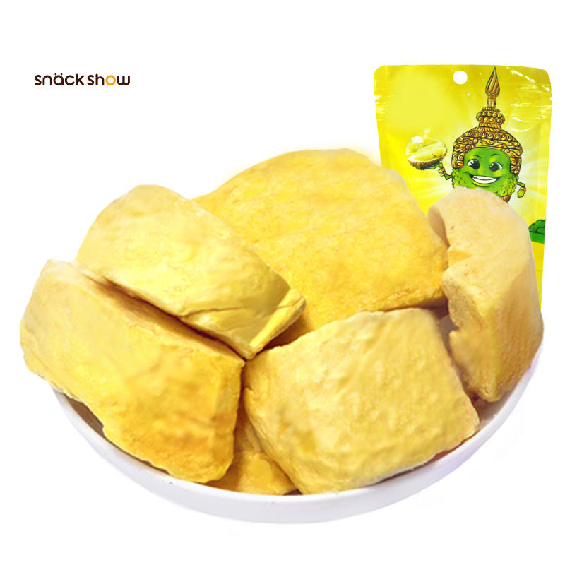 New Snacks Candied Fruits Freeze-dried Leisure Small Packaging Thailand Golden Pillow Original Durian Dried Durian