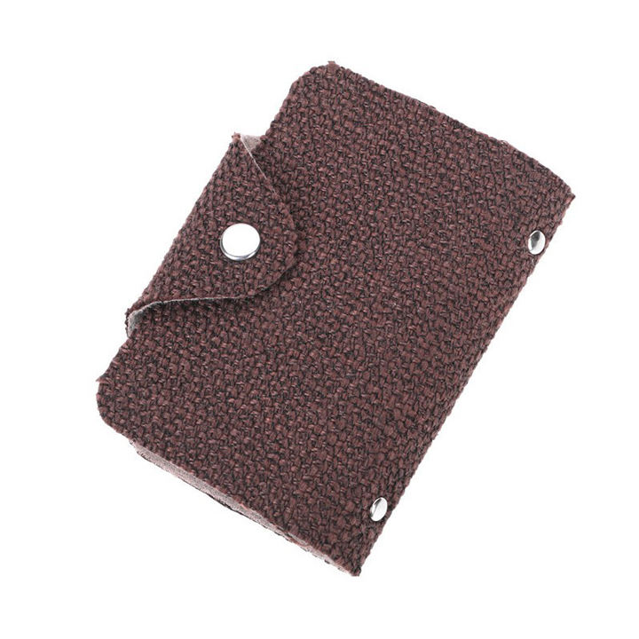 New Function Card fashionable Card Holder wallet cotton and linen style Men Credit Passport Card Women Wallet
