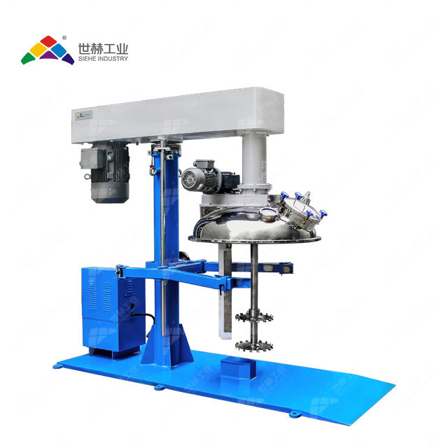 Industrial paint mixing machine scraper type hydraulic high speed disperser with CE