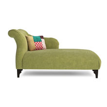 New product On sale luxury loyal style green fabric velvet lying lounge chair for living room bedroom