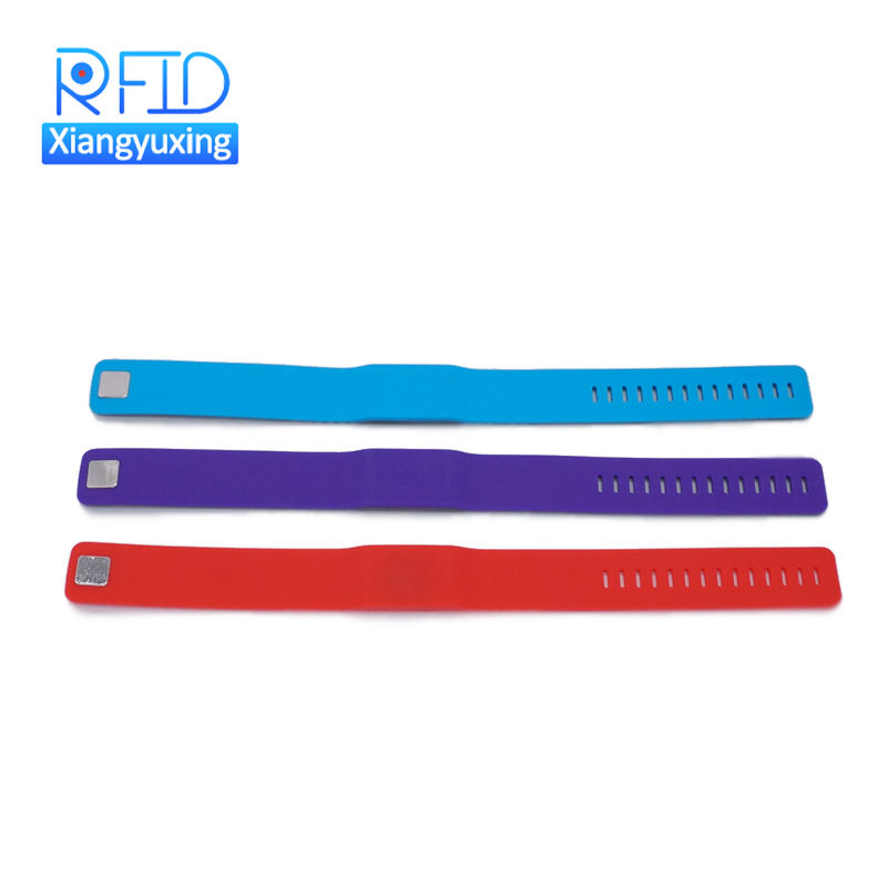 Adjustable [ Wristband ] Rfid Waterproof Wristbands Waterproof 13.56mhz Nfc Silicone Bracelet Adjustable Rfid Wristband