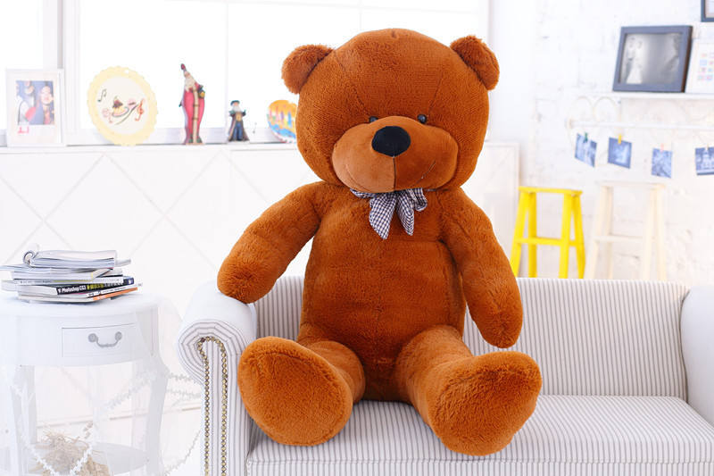 1.6m Teddy Bear Plush Toys Stuffed Teddy Dolls Gifts For Girls