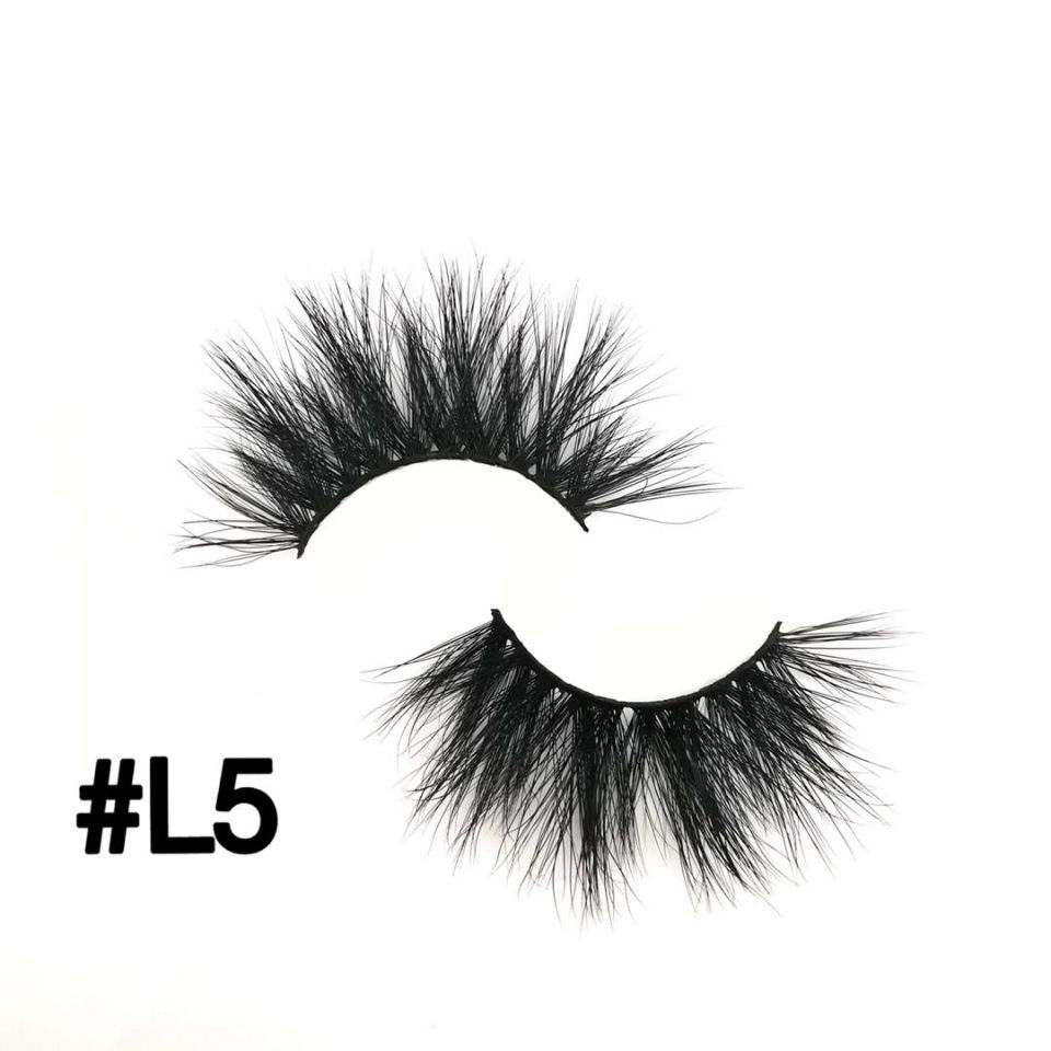 Popular mink eyelashes sold directly from professional factories