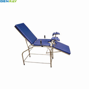 BR-DB34B Guangzhou Simple Gynecology Hospital Medical manual Multifunction for Pregnant woman gyncology obstetric delivery bed